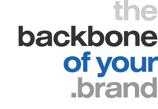 the backbone of your .brand